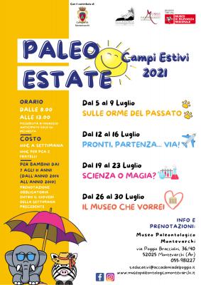 Campi Estivi 2021 - Paleo Estate
